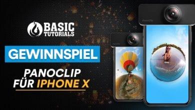 Bild von Gewinne einen PanoClip fürs iPhone X und nimm 360-Grad-Fotos auf!