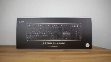 Photo of Azio Retro Classic BT: The Premium Keyboard with Leather or Walnut Wood Reviewed