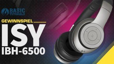Photo of Gewinnspiel: Deine Chance auf den ISY IBH 6500 Bluetooth-Kopfhörer!
