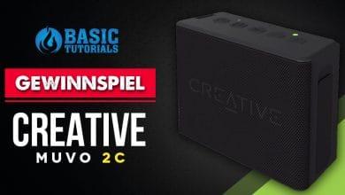 Photo of Gewinnspiel: Gewinne einen Creative Muvo 2c Bluetooth-Lautsprecher!