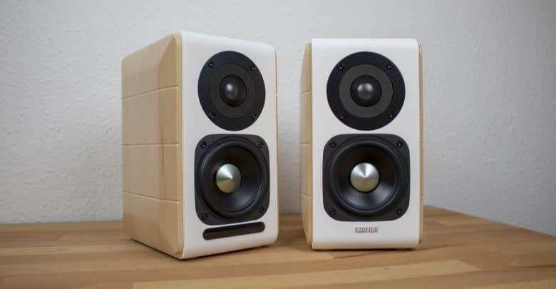 edifier s880db im test schicke regallautsprecher f rs. Black Bedroom Furniture Sets. Home Design Ideas