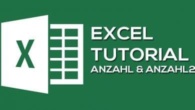 Photo of ANZAHL – Zählen verschiedener Parameter in Excel