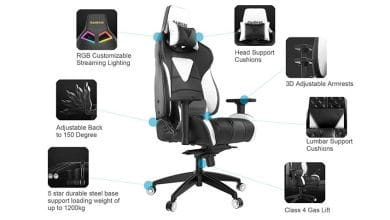Photo of Gamdias Achilles M1-L Gaming Chair with RGB Lighting Review