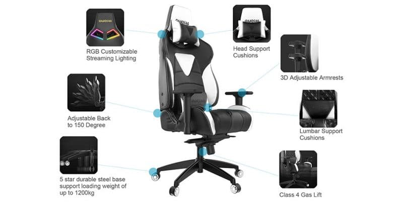 Fantastic Gamdias Achilles M1 L Gaming Chair With Rgb Lighting Review Alphanode Cool Chair Designs And Ideas Alphanodeonline