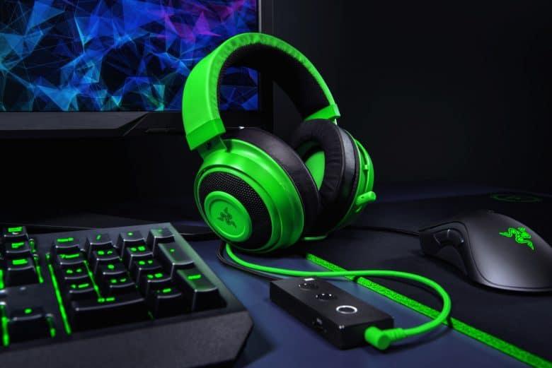 Razer Kraken Tournament Edition with THX Spatial Audio for position-accurate 360°-Sound