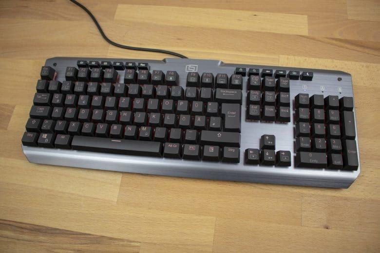 Lioncast LK300 Pro Gaming-Tastatur im Test