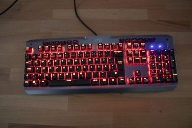 RGB-Beleuchtung der Tastatur