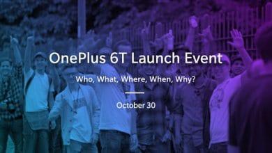 Bild von OnePlus 6T: Präsentation am 30.10. und Verkauf ab dem 06.11.