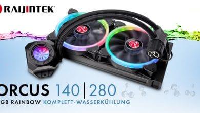 Photo of Raijintek präsentiert Orcus RGB Rainbow Komplett-Wasserkühlung
