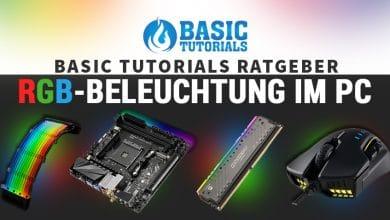 Bild von Basic Tutorials Ratgeber: PCs perfekt in Szene gesetzt mit RGB-Beleuchtung