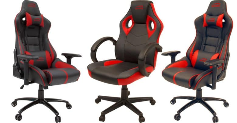 ariac und yaru speedlink pr sentiert zwei neue gaming st hle. Black Bedroom Furniture Sets. Home Design Ideas