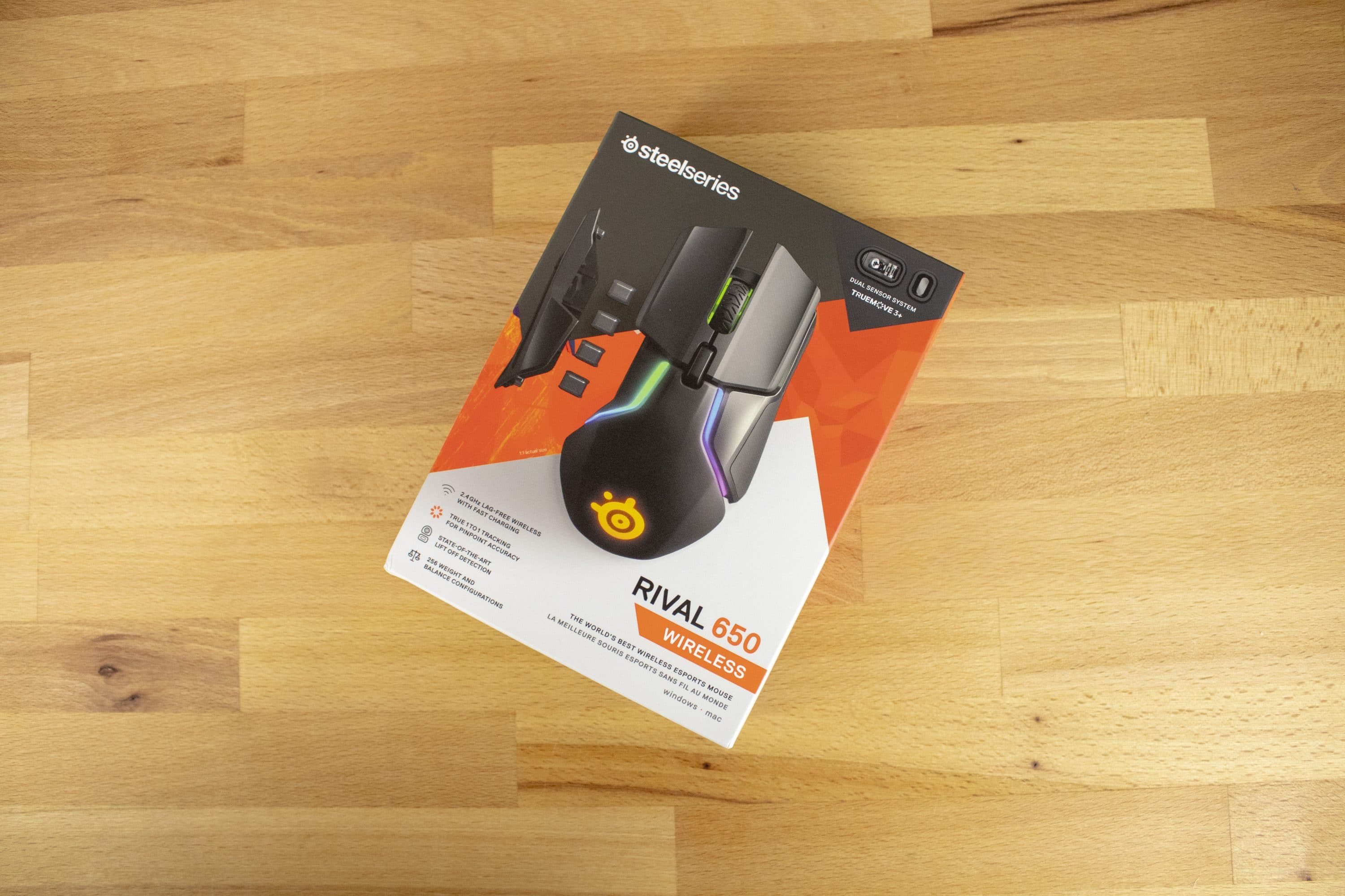 SteelSeries Rival 650 Wireless: Wireless Gaming Mouse with