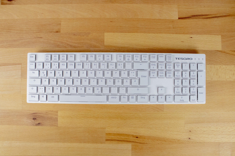 Tesoro Gram Xs Im Test Die Wohl Flachste Mechanische Gaming Tastatur