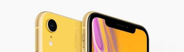 iPhone XR mit Notch