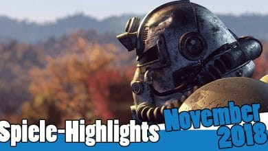 Photo of Spiele-Highlights im November 2018: Fallout 76, Battlefield 5 & vieles mehr