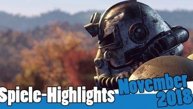 Bild von Spiele-Highlights im November 2018: Fallout 76, Battlefield 5 & vieles mehr