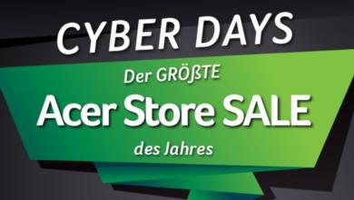 Photo of Acer präsentiert Cyber Deals & Black Friday Angebote
