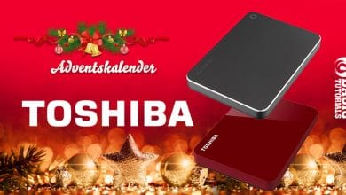 Photo of Adventskalender Türchen 4: Speicher satt von Toshiba
