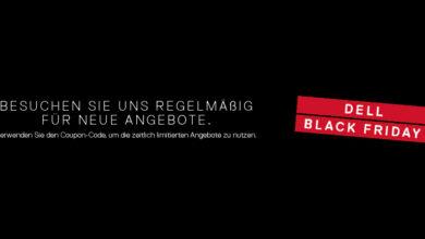Bild von Black Friday Deals bei Dell