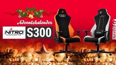 Bild von Adventskalender Türchen 6: Nitro Concepts S300 Gaming-Stuhl in deiner Lieblingsfarbe