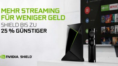 Photo of NVIDIA SHIELD TV Media Streaming Player nur 149,99 Euro bei Amazon (-50€)*