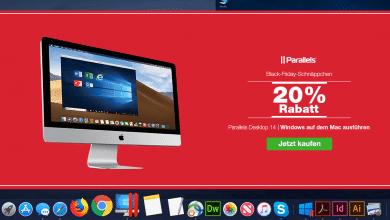 Photo of Black Friday: Parallels Desktop mit 20 Prozent Rabatt erhältlich