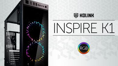 Photo of Kolink Inspire K1: Budget-Gehäuse mit schicker RGB-Beleuchtung