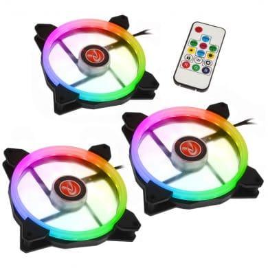 Raijintek IRIS 14 Rainbow RGB LED-Lüfter