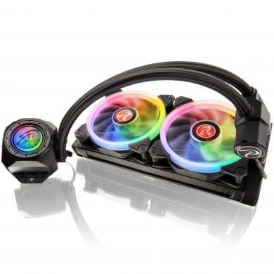 Raijintek Orcus RGB Rainbow Komplett-Wasserkühlung