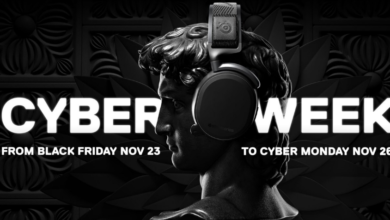 Photo of SteelSeries Cyberweek (23. bis 26.11.2018, für Member ab 19.11.)