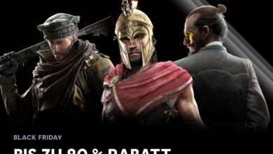 Photo of Black Friday: Bis zu 80% Rabatt bei Ubisoft!