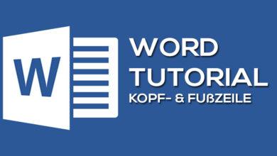 Photo of So funktionieren die Kopf- und Fußzeile in Microsoft Word