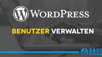 Photo of So kannst du die Benutzer deines WordPress-Blogs verwalten
