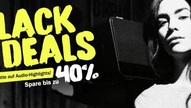 Bild von Teufel Black Deals mit Audio-Highlights: Spare bis zu 40%*