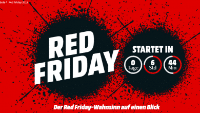 """Photo of MediaMarkt startet """"Red Friday""""-Angebote"""