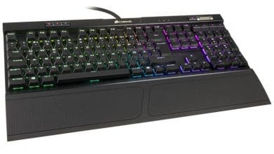 Photo of Corsair K70 RGB MK.2 Low Profile: Mechanische Tastatur mit flachen Cherry MX-Switches im Test
