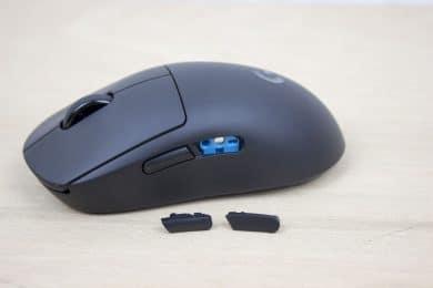 Die Maustasten können ausgetauscht werden