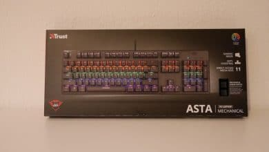 Trust GXT 865 Asta Mechanical Keyboard
