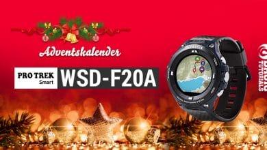 Bild von Adventskalender Türchen 24: Moderne Outdoor Smartwatch von CASIO Pro Trek