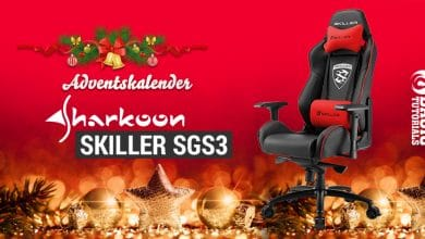 Photo of Adventskalender Türchen 16: Bequemes Zocken auf dem Sharkoon SKILLER SGS3 Gaming-Stuhl