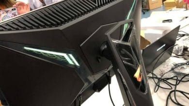 Photo of Leak zeigt Gigabytes ersten Gaming-Monitor Aorus AD27QD