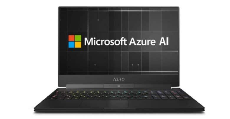 Ces 2019 Gigabyte Aero Gaming Notebook Nutzt Microsoft Azure Ai