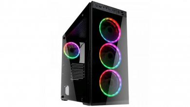 Bild von Kolink Horizon RGB: Geräumiger Midi-Tower mit viel Glas und RGB im Test
