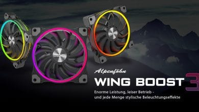 Photo of Alpenföhn präsentiert Wing Boost 3 mit RGB-Beleuchtung