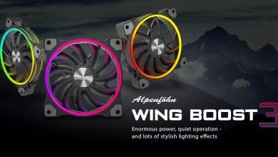 Photo of Alpenföhn Presents Wing Boost 3 with RGB Lighting