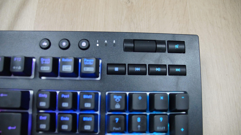 Die Tt Premium X1 Rgb Gaming Tastatur Im Test