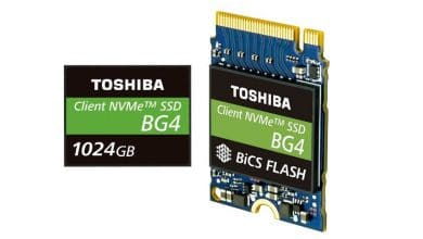 Photo of CES 2019 – Toshiba BG4 Saves 1 TB on Thumb-Sized SSD