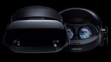 Photo of Samsung Develops VR Glasses with Curved Display