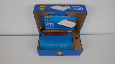 FRITZ!Box 7530 Verpackung Innen