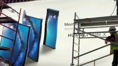 Bild von MWC 2019: Huawei Mate X Smartphone mit faltbarem Display aufgetaucht